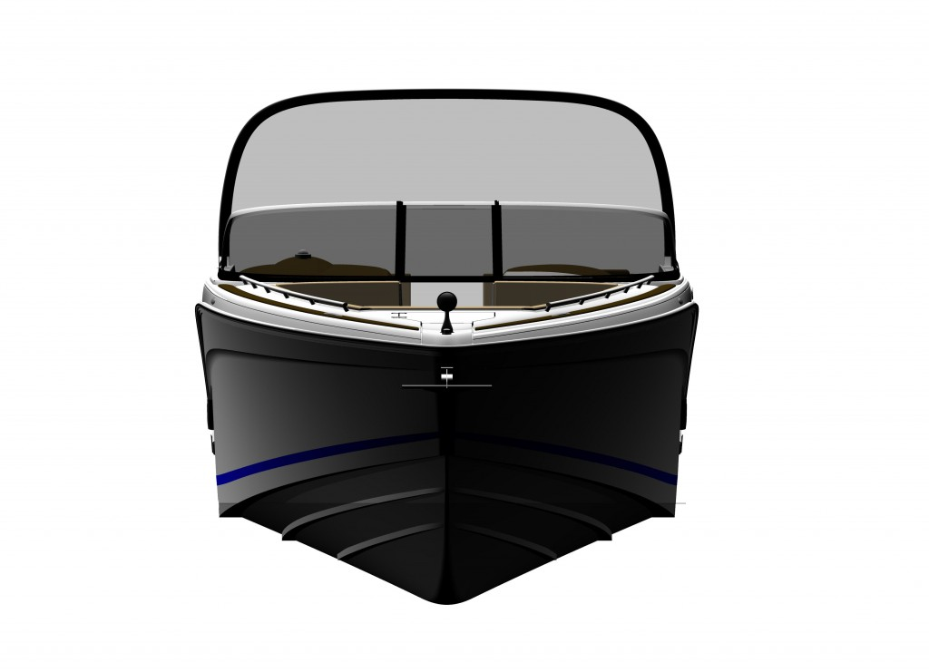 32 Bow Rider Front View